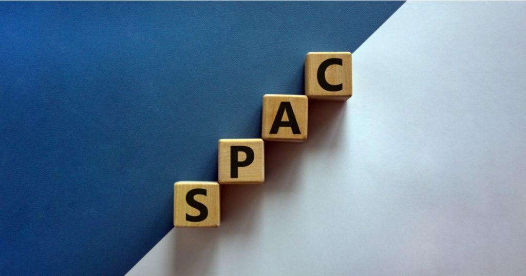 SPAC - special purpose acquisition company - illustration cubes en bois spac