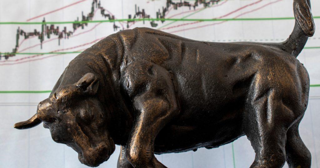 bull put spread - vertical bull put spread - taureau devant graphique